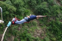 Highlight for album: Southern Africa Adventure - Vic Falls Bungee